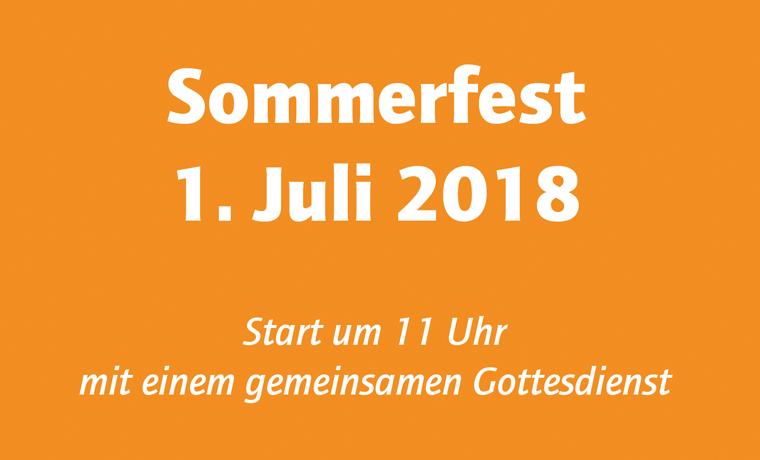 Kurzer Rückblick Sommerfest