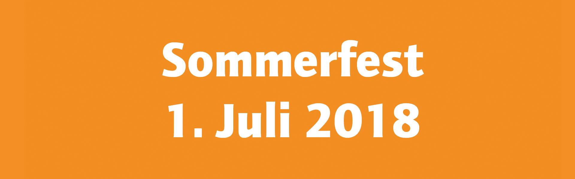 Gemeinsames Sommerfest